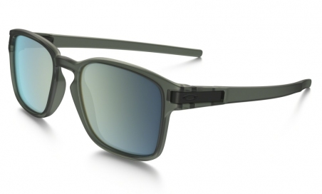 Очки Oakley Latch SQ Matte Olive Ink/Emerald Iridium
