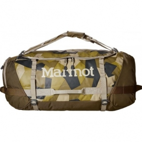 Сумка Marmot Long Hauler Duffle Bag Small fragment camo/brown moss (MRT 26760) - интернет магазин 7вершин