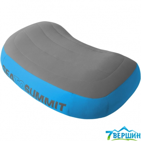 Подушка надувная Sea To Summit Aeros Premium Pillow (STS APILPREM) blue - интернет магазин 7вершин