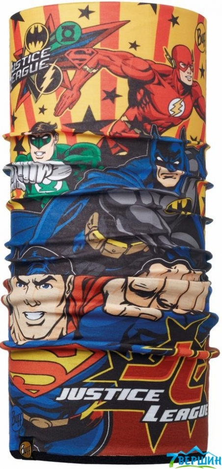 BUFF SUPERHEROES JUNIOR POLAR jl multi/black (BU 113312.555.10.00) - интернет магазин 7вершин