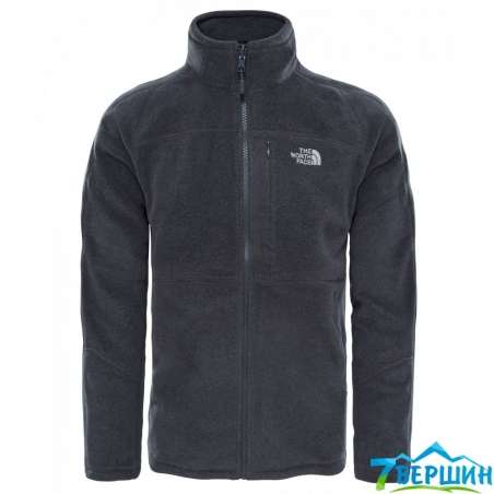 Кофта Men's 200 Shadow Full Zip fusebox grey dark  heather pазмер XXL (TNF T92UAO,JJL) - интернет магазин 7вершин