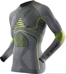 Термобелье X-bionic Radiactor EVO Man Shirt Long Sleeves (I20315-S051) - интернет магазин 7вершин
