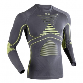Термобелье X-bionic Energy Accumulator Evo Shirt Man Long Sleeves Roundneck ( I20216-G099) - интернет магазин 7вершин