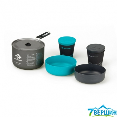 Набор посуды Sea To Summit Alpha Pot Set 2.1 L (STS APOTACKSET2.1) grey - интернет магазин 7вершин