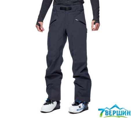 Штаны для фрирайда, скитура Black Diamond M Recon Stretch Ski Pants, Carbon (BD ZC0G.0003) - интернет магазин 7вершин