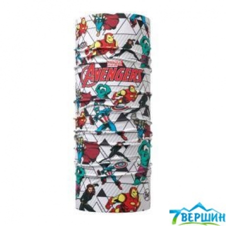 BUFF SUPERHEROES KIDS ORIGINAL avengers since (BU 118286.555.10.00) - интернет магазин 7вершин