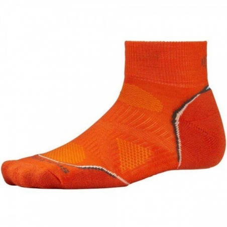 Термоноски для бега Smartwool Men's PhD Run Light Mini Orange (SW SW065.827) - интернет магазин 7вершин