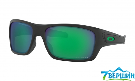 Очки Oakley  Turbine Matte Black / Prizm Jade Polarized  (OO9263-4563) - интернет магазин 7вершин