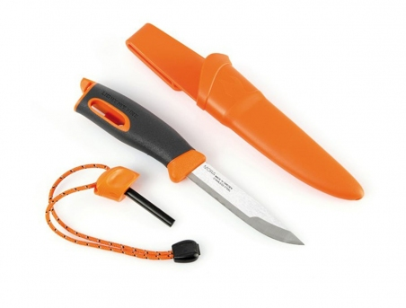 Нож-огниво Light My Fire FireKnife Orange Pin-pack Orange LMF 12113610 - интернет магазин 7вершин