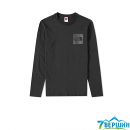Кофта The North Face L/S Fine Tee black p.XL (TNF T937FT.JK3)