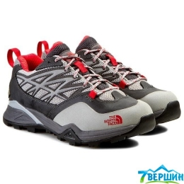 Кросівки жіночі трекінгові The North Face Hedgehog Hike GTX grey / red (TNF T0CDF4.APN)
