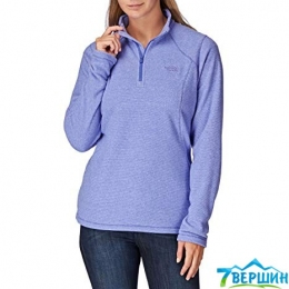 Женская флисовая кофта The North Face Women's 100 Glacier 1/4 Zip starry purple stripe (T0A6LC.BZR)