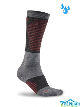 Шкарпетки Craft Alpine Training Sock grey melange / beam (Cr 1907898.975481)
