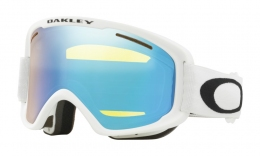 Горнолыжная маска Oakley O2 XM matte white/High Intensity Yellow (OO7066-57)