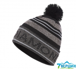 Шапка Black Diamond Pom Beanie Black/Grey (BD 721002.9056)