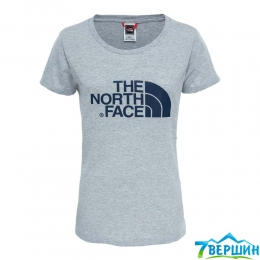 Футболка TNF W S/S Easy Tee light grey heather p.L (TNF T0C256.JBW)