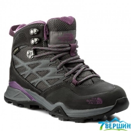 Ботинки жен. TNF W Hedgehog Hike Mid GTX grey/violet (TNF T0CDF3.TCS)