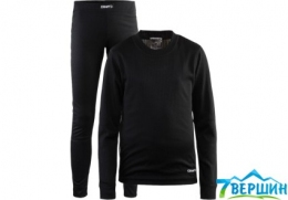 Термобілизна Craft Baselayer Set Junior black (1905355.999000)