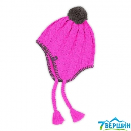 Шапка The North Face G Fuzzy Earflap Beanie  luminous pink (T0A9FT.BDX.OS)