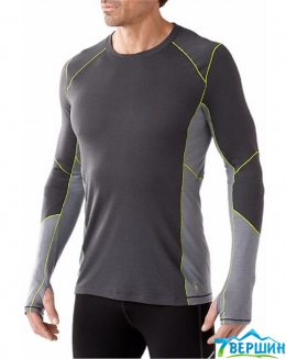 Кофта Smartwool Men's PHD Light Long Sleeve Shirt graphite (SW SO932)