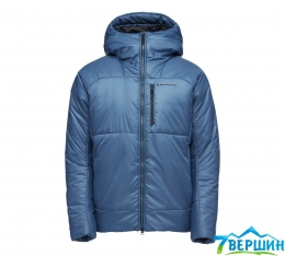 Теплая куртка мужская Black Diamond M Belay Parka, Astral Blue (BD 746100.4002)