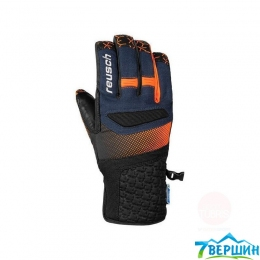 Горнолыжные перчатки Reusch Stuart R-TexВ® XT dress blue / orange popsicle (4701206.425)
