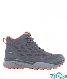 Ботинки жен. TNF W ENDURUS HKE MD GTX grey/orange ( TNF T92YAB.YTK)