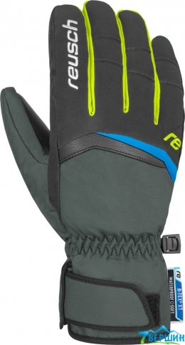 Перчатки Balin R-TEX XT dark granite/yellow (4801265.682)