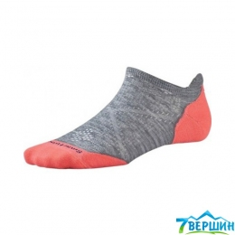 Женские носки для бега Smartwool Women's PhD Run Light Elite Micro light gray (SW SW210.039) 38-41 (M)