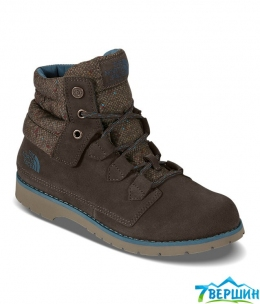 Ботинки The North Face W Ballard roll-down Special Edition demitasse brown/tapestry blue  (T0CLZ0.NZJ)