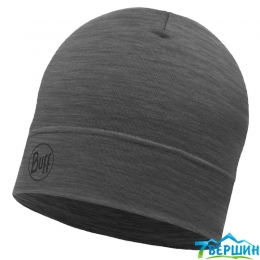 Шапка BUFF MERINO WOOL 1 LAYER HAT solid grey (BU 113013.937.10.00)