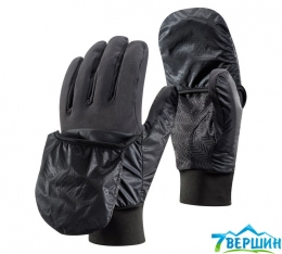 Теплые перчатки с верхонками Black Diamond WindHood Softshell Gloves Smoke (BD 801096.SMOK)