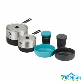 Набор посуды для двоих Sea To Summit Sigma Cookset 2.2 Pacific Blue/Silver (STS APOTSIGSET2.2)