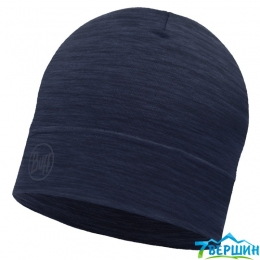 Шапка BUFF MERINO WOOL 1 LAYER HAT solid denim (BU 113013.788.10.00)