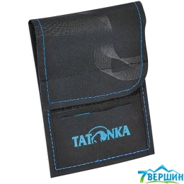 Гаманець Tatonka HY NECK WALLET black / bright blue (TAT 2883.238)