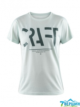 Футболка женская Craft Eaze SS Logo Mesh Tee Woman plexi (Cr 1907019.602000)