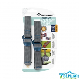 Стяжные ремни Sea To Summit Accessory Strap With Hook Buckle 20mm (STS ATDASH20)