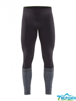 Термобілизна, штани Craft Warm Intensity Pants Man apshalt/grey melange  (Cr 1907926.995975)