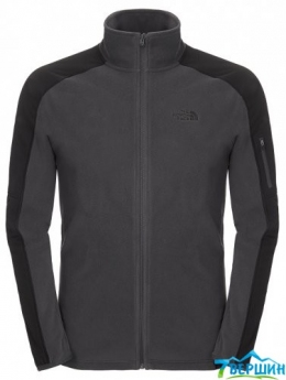 Кофта The North Face Glacier Delta FZ asphalt grey/tnf black p. XXL (T0CG35.MN8)