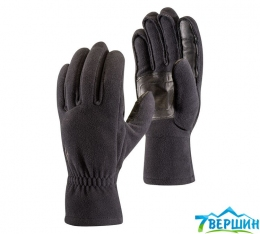 Непродуваемые перчатки Black Diamond Midweight Windbloc Fleece Gloves black (BD 801039.BLAK)