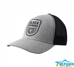 Бейсболка Black Diamond Trucker Hat Heathered Aluminum/Black, One Size ( BD FX7L.113 )