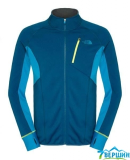 Мужская флисовая кофта The North Face Men's Krypton fz jacket snorkel blue/quill blue (T0C152.X4T)