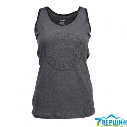 Майка The North Face W Graphic Play Hard Tank EU dark grey heather (TNF T92XLO.DYZ)