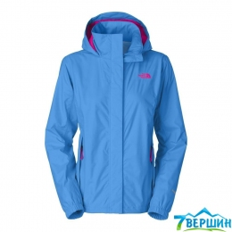 Куртка The North Face W Resolve Jacket clear lake blue (TNF T0AQBJ.W8G)