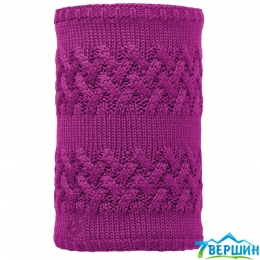 BUFF Knitted Polar neckwarmer savva mardi grape (BU 113349.617.10)