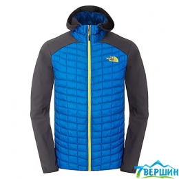 Чоловіча утеплена куртка, гібрид The North Face Men's Thermoball Hybrid Hoodie EU blue / asphalt grey (T0CAV7.R5X)
