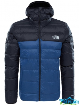 Мужская тонкая пуховая куртка TNF Men's West Peak Down Jacket shady blue (TNF T92ZWG.HDC)