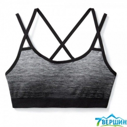 Спортивний жіночий топ SmartWool Wm's PhD Seamless Strappy Bra black (SW 16023.001)