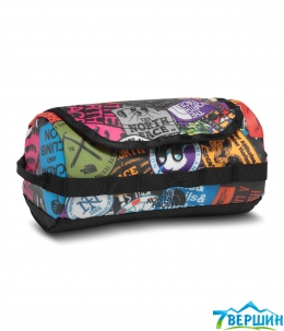 Косметичка The North Face BC Travel Canister (TNF Red Sticker/Bomb Print/TNF Black)  L