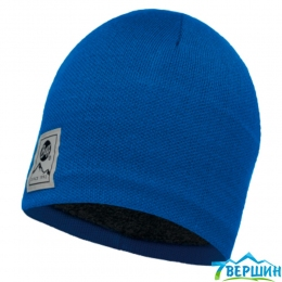 BUFF Knitted polar hat Solid blue skydiver (BU 113519.703.10)